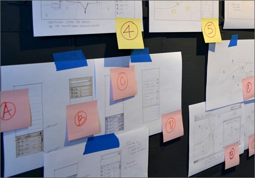 web-mobile-ux-user-experience-sketching-prototype-wall